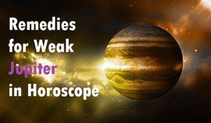 Remedies for Weak Jupiter in Horoscope