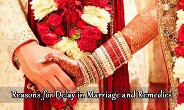 Reasons for Delay in Marriage As Per Indian Astrology & Their Remedies