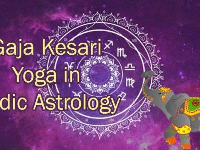 Gaja Kesari Yog in Vedic Astrology