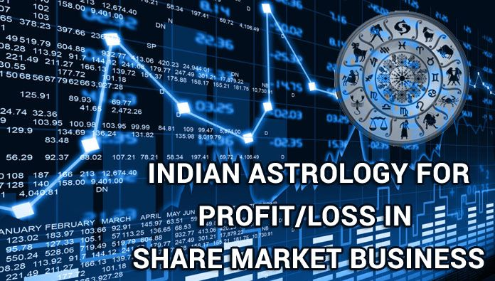 Indian Astrology in Share Market Business, Profit/Loss horoscope Share Market