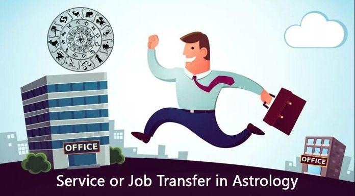 Job change Service, Job Transfer in Astrology, Transfer yog in kundli