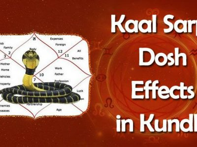 Kaal Sarp Dosh Yog Effects and Remedies in Horoscope, Kundli
