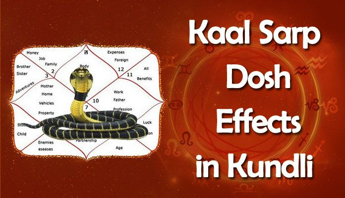 Kaal Sarp Yog Effects in Kundli, Horoscope - Kaal Sarp Dosh Remedies