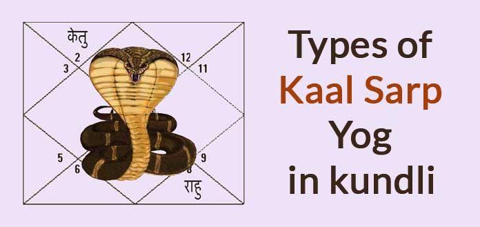 Types of Kaal Sarp Yog in kundli - Kaal Sarpa Dosh - Kaal Sarp Dosh Remedy